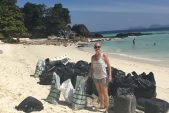 Beach clean Koh Lipe