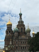 Church of spilled blood - St Petersburg