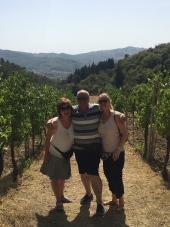Chianti vineyard Tuscany